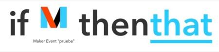 Crear receta con The Maker Channel y un evento llamado prueba