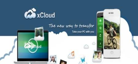 Sincroniza un dispositivo móvil con un ordenador a través de xCloud