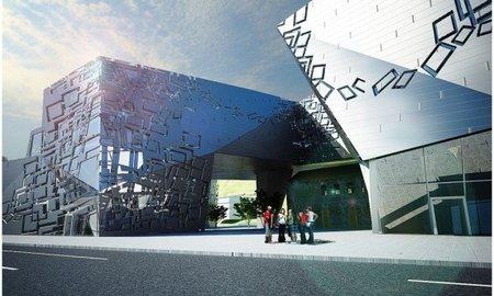 Nuevo centro de Arte Contemporáneo en Cluj-Napoca, Rumanía
