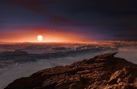 Artist S Impression Of The Planet Orbiting Proxima Centauri