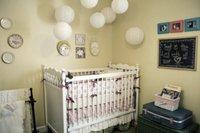 Puertas abiertas: un dormitorio de bebé con toques vintage