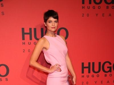 Fiesta de Hugo Boss en Berlín: Pixie Geldof se nos pone dulce