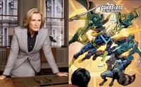 Glenn Close se suma a la moda de los superhéroes con 'Guardianes de la Galaxia'