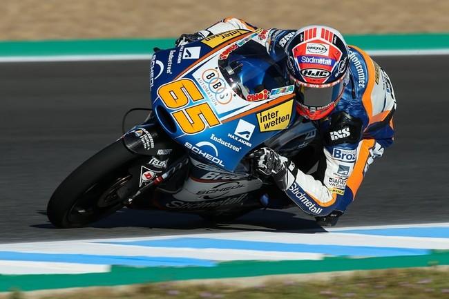 Philipp Oettl aprovecha el strike de Aron Canet para vencer su primera carrera de Moto3 en Jerez
