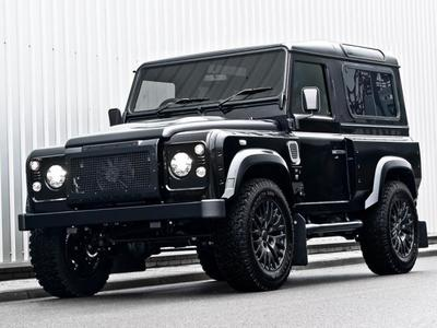 Land Rover Defender Harris Tweed Edition por Khan