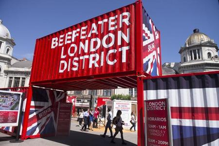 Así fue Beefeater London District Madrid