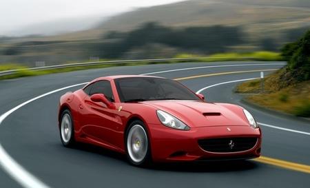 Ferrari California rojo