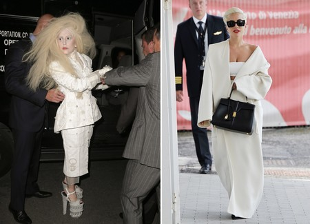 Lady Gaga Estilo Antes Despues