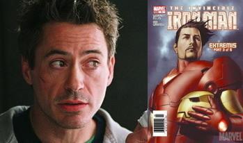 Robert Downey Jr. será Iron Man