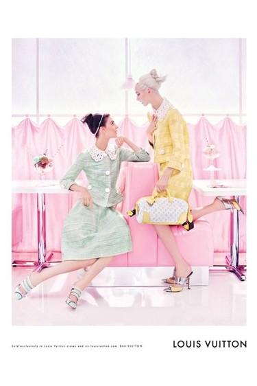 Louis Vuitton campaña Primavera-Verano 2012: bienvenidos a este gran cupcake