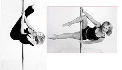 Pole Dance, fitness y danza en barra vertical