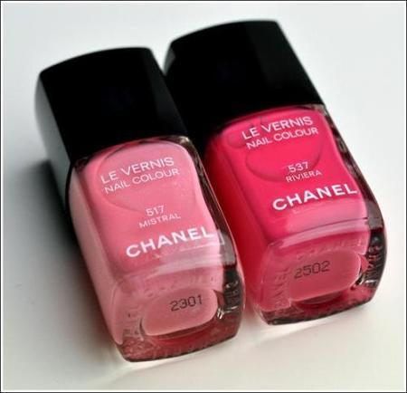 Esmaltes rosas de Chanel para la primavera