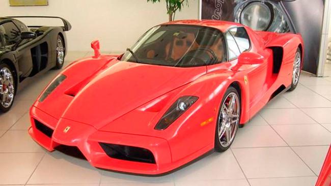 Si querías el Ferrari Enzo de Michael Schumacher, tienes una nueva oportunidad: vuelve a estar a la venta