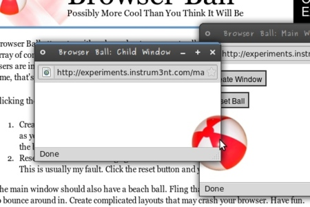 Chrome Experiments - Browser Ball