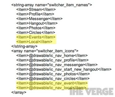 Eventos y Local, dos posibles nuevas secciones en Google+