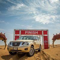 Desert Camel Power, así prueba Nissan el desempeño de los vehículos en el desierto