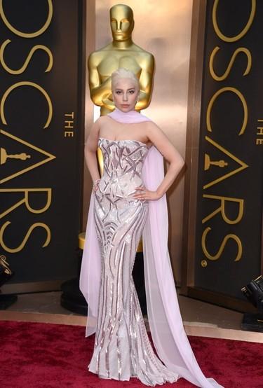 Sí, Lady Gaga también se coló en los Oscars