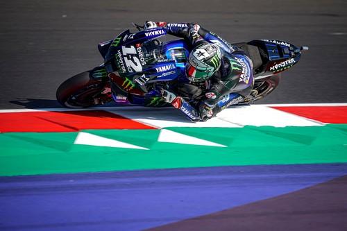 ¡Póker! Yamaha arrasa en la clasificación de Misano con Maverick Viñales haciendo una pole de récord