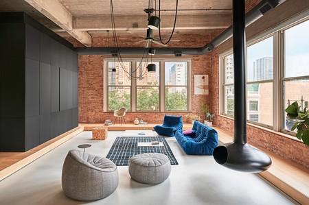 Madera, metal y cemento, tres elementos básicos para remodelar este espectacular loft de estilo industrial