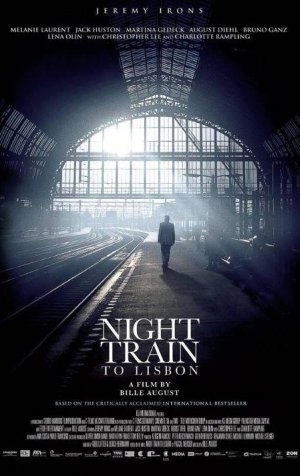 El cartel de Night Train to Lisbon