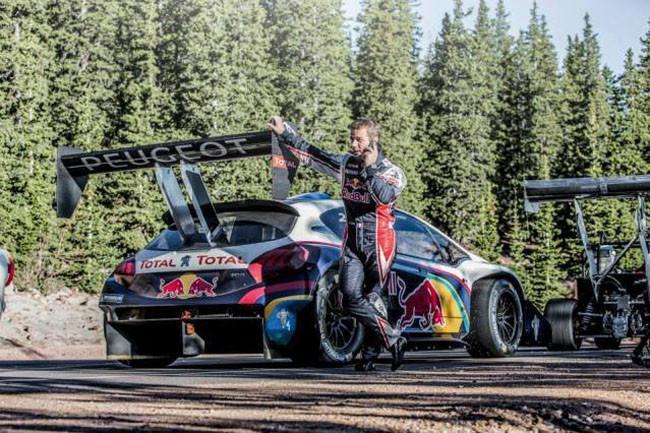 Sébastien Loeb y Peugeot en Pikes Peak