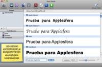 Font Sleuth 2, controla cómodamente las fuentes de Mac OS X