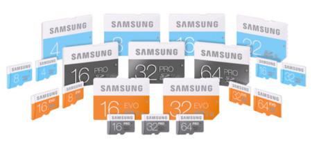 Samsung le da un lavado de cara a sus tarjetas de memoria y las hace más veloces