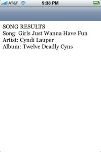 Listen.app, reconocimiento de canciones en el iPod