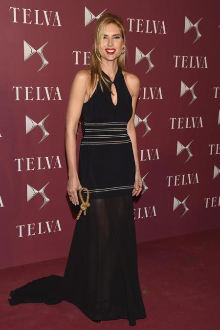 Judit Mascó en la entrega de premios T de Telva