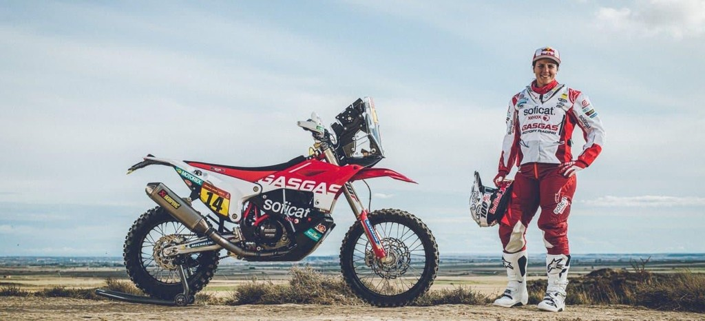 Laia Sanz participará en el Dakar 2020 con GasGas aunque con la moto y el material de KTM