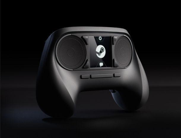 Steam Controller, el gamepad del futuro para las Steam Machines