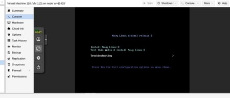 Boot de arranque de Navy Linux