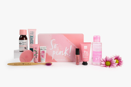 Birchbox En Rosa So Pink Fondo Blanco