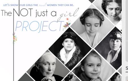 'Not just a girl': el proyecto de fotografías en el que Emma no se parece a las princesas Disney, sino a lo que ella podría ser