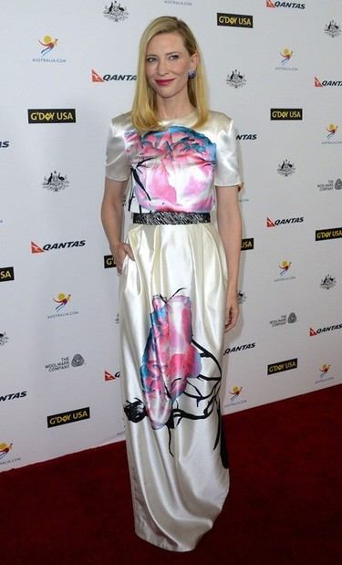 ¿Pero es que Cate Blanchett no se cansa de ir guapa a todos los saraos?