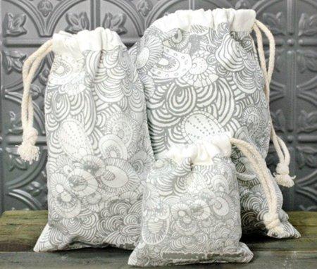 Haz la compra con bolsas de algodón orgánico