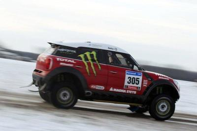 Un Mini Countryman en el Dakar