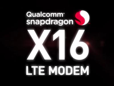 Qualcomm da a conocer el módem 4G X16, que llevará la velocidad de la fibra a los móviles