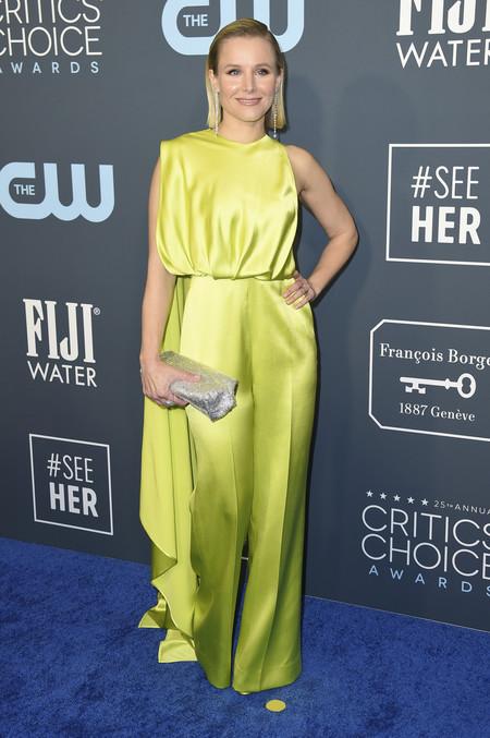 Es posible que el estilismo de Kristen Bell para los Critics' Choice Awards 2020 sea uno de los más llamativos de la noche