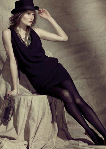 Hoss Intropia vestido negro