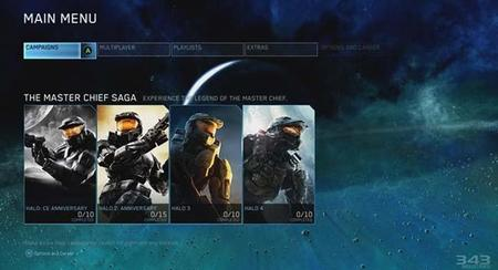 Halo: The Master Chief Collection muestra sus menús y un poco de Halo 4