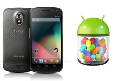Galaxy Nexus también se actualiza a Android 4.2.1 (Jelly Bean)