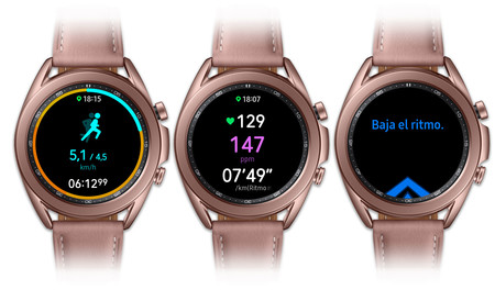 Samsung Galaxy Watch 3 Entrenamiento