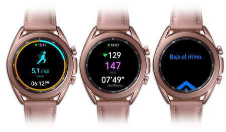 Samsung Galaxy Watch 3 Entrenamiento