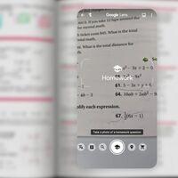 Una foto y ejercicio resuelto: Google Lens ha puesto más fácil que nunca hacer los deberes