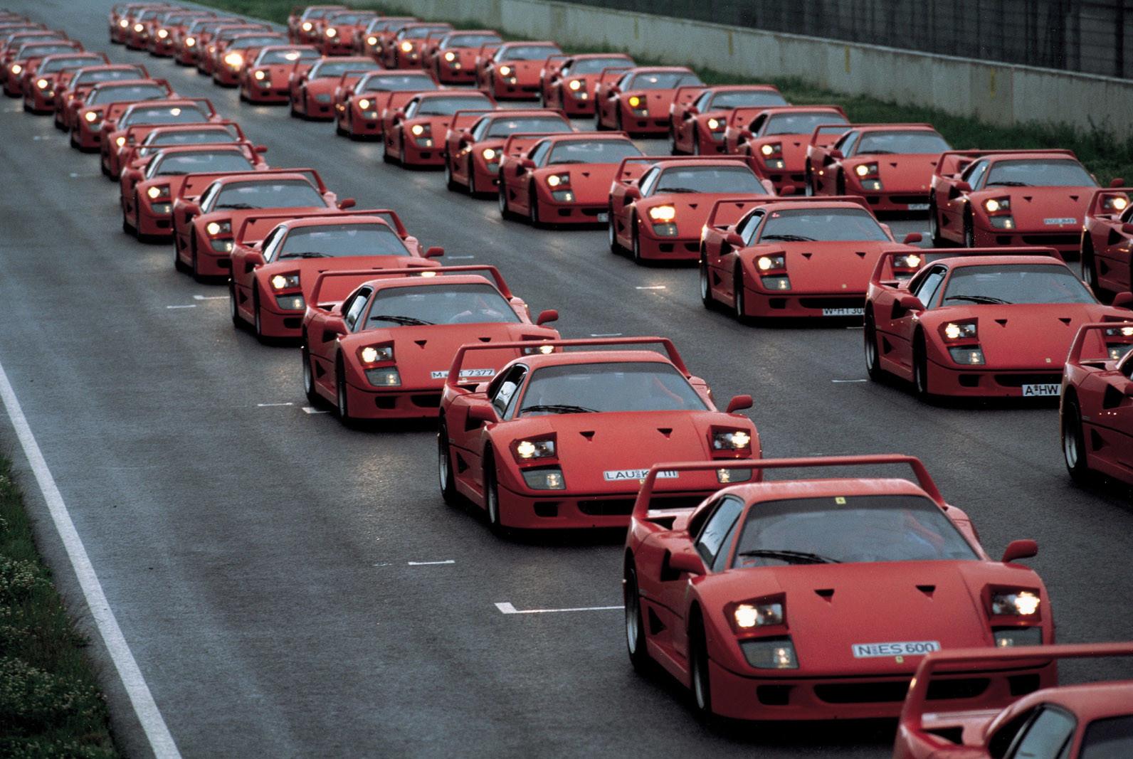 Foto de Ferrari F40, 30 aniversario (16/17)