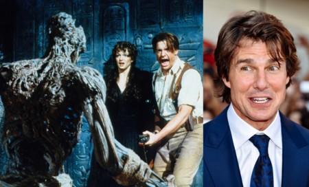 Tom Cruise es... ¿La Momia?