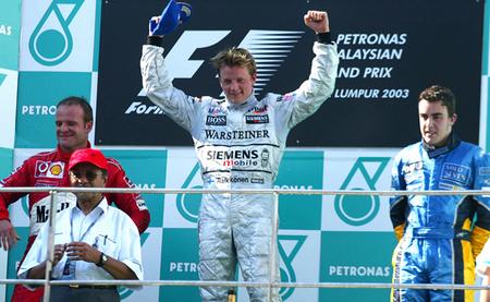 Gran Premio de Malasia 2003: las primeras veces son siempre especiales