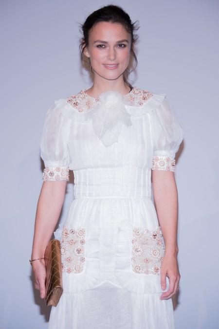 Keira Knightley es un ángel vestido de Chanel en Venecia