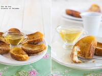 Torrijas clásicas con almíbar de miel. Receta de Semana Santa